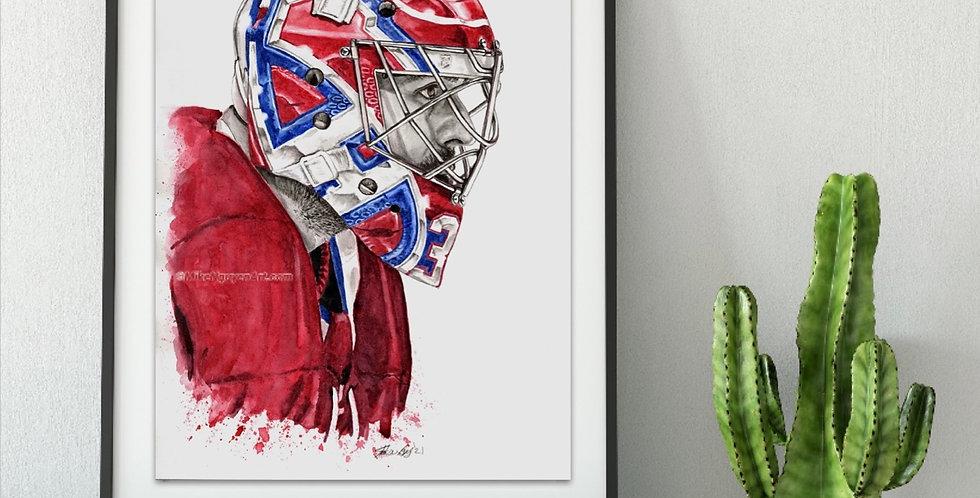 Carey Price Mask - Print