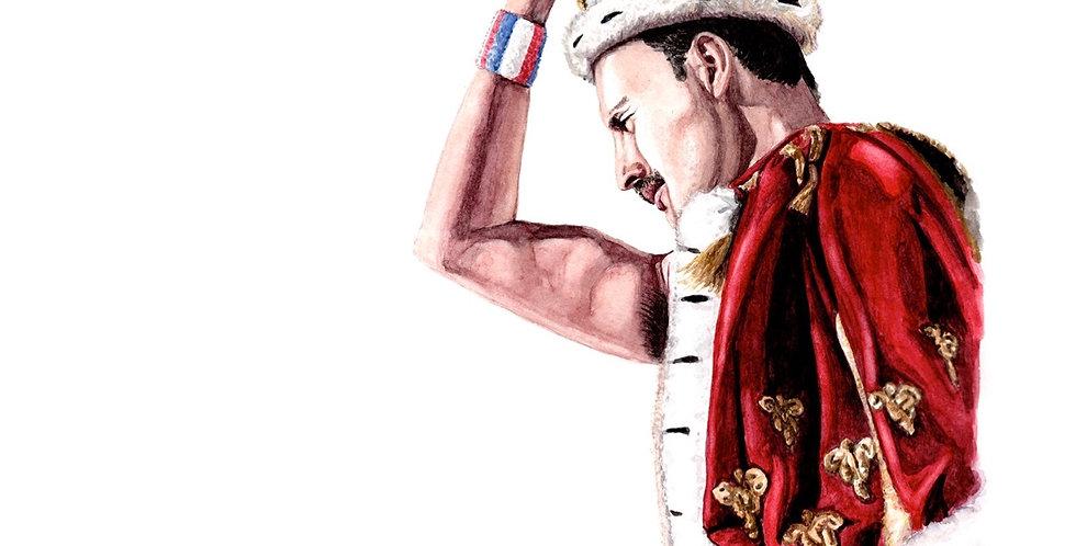 Freddie Mercury - Print
