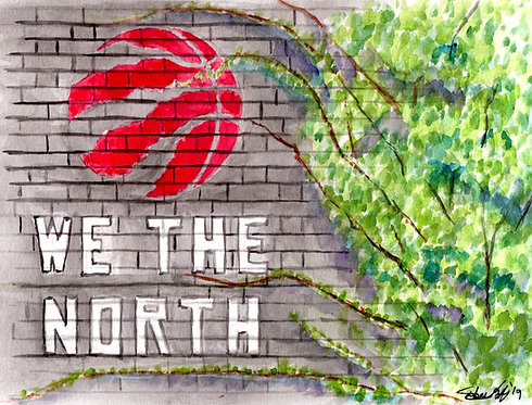 We The North Mural - Print