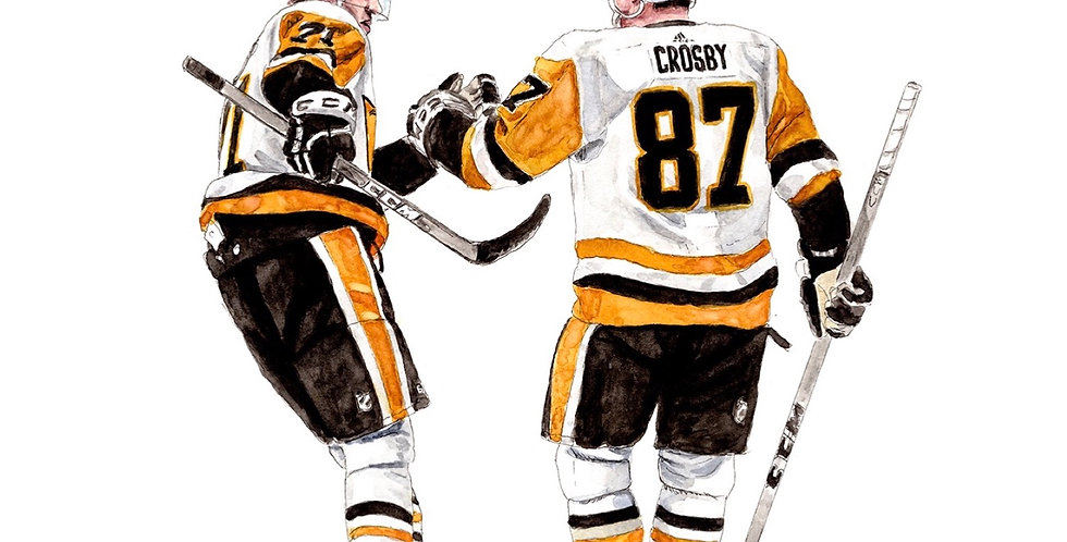 PITTSBURGH PENGUINS LINE - ORIGINAL