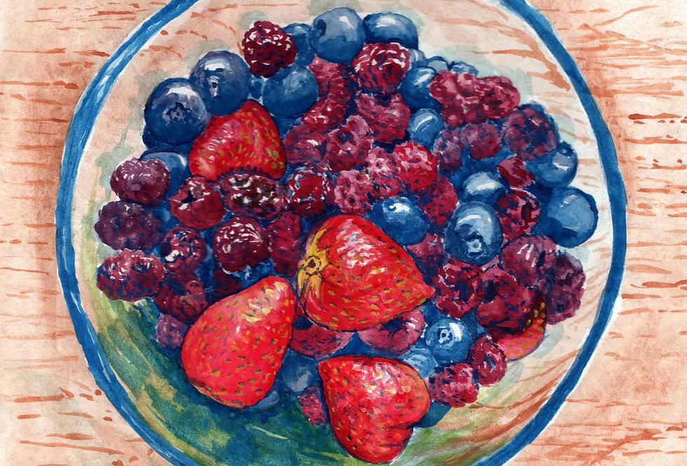 Berries - Print