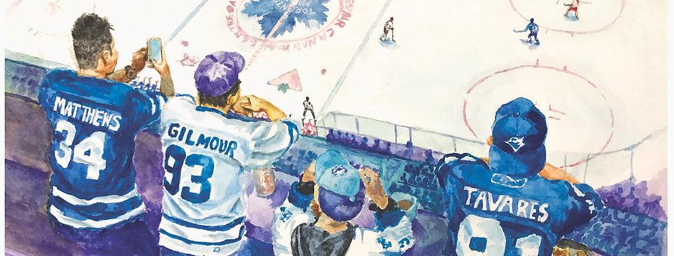 Leafs Fan - Print