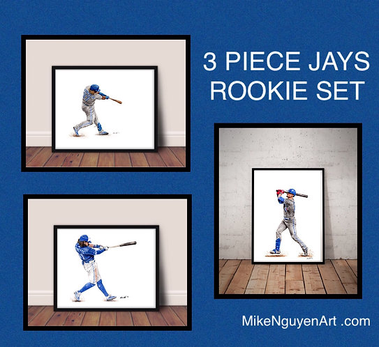 Blue Jays Rookie Set - Vladdy Jr., Bichette, Biggio