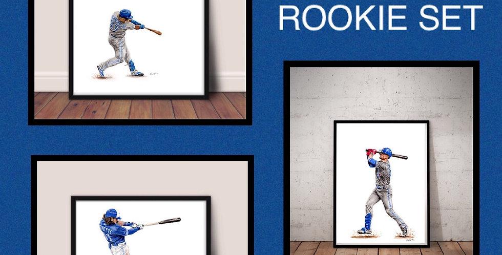 Blue Jays Rookie Set - Vladdy Jr., Bichette, Biggio