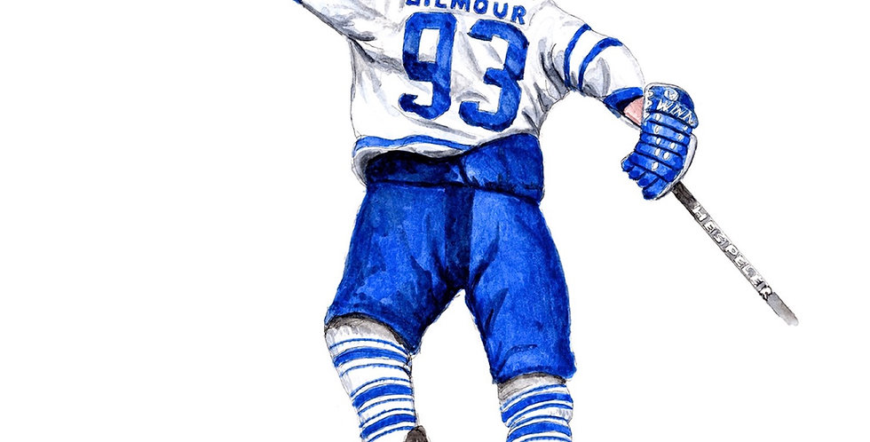 Doug Gilmour's OT 93 Goal Celebration - Print