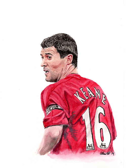 Roy Keane - Print