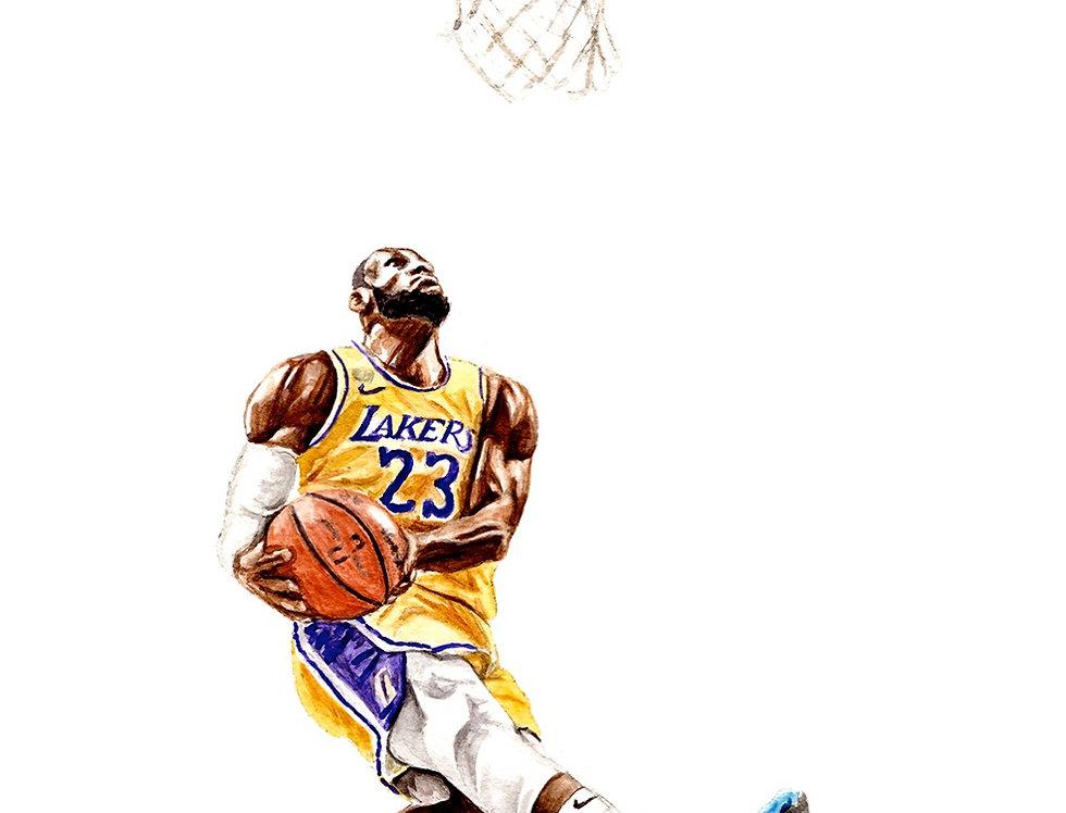 LeBron James - Print