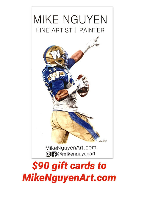 $90 Gift Card to MikeNguyenArt.com