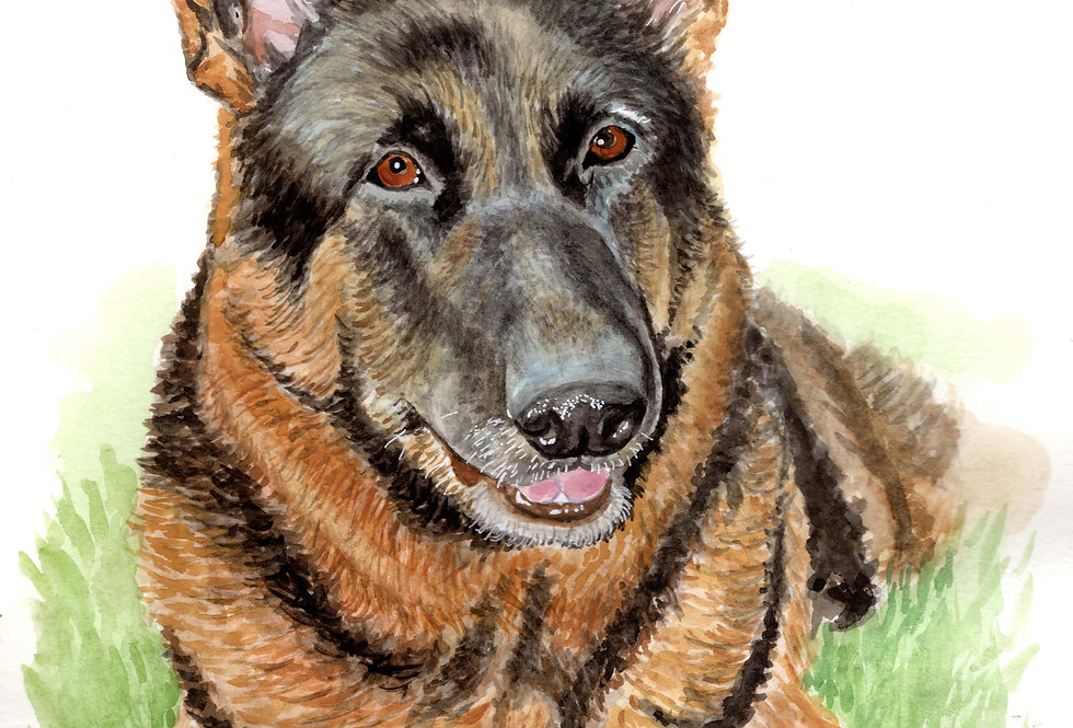 CUSTOM - PET PORTRAIT - SOLD
