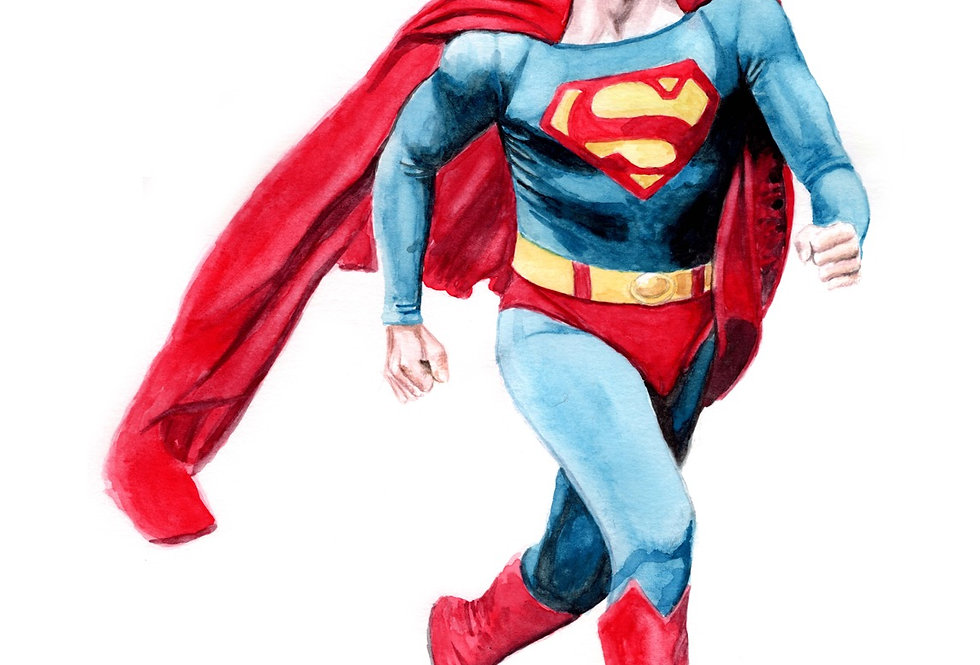Superman, Christopher Reeves - Print