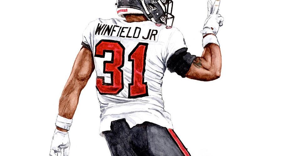 Antoine Winfield Jr. - 2021 Super Bowl Champ - Print