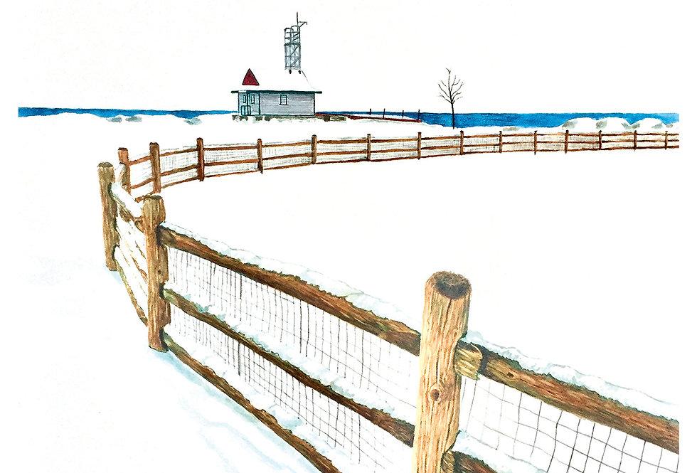 Fresh Snow - Print
