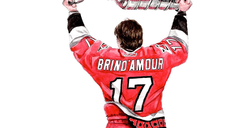 Rod Brind'Amour - Print