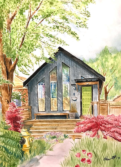 Cottage in the City - Print