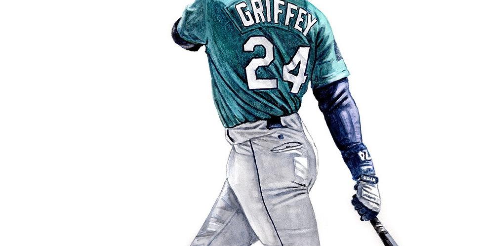 Ken Griffey Jr - Print