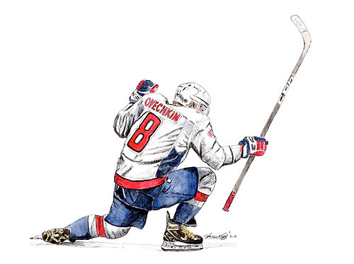 Alex Ovechkin, 700th Goal - Print