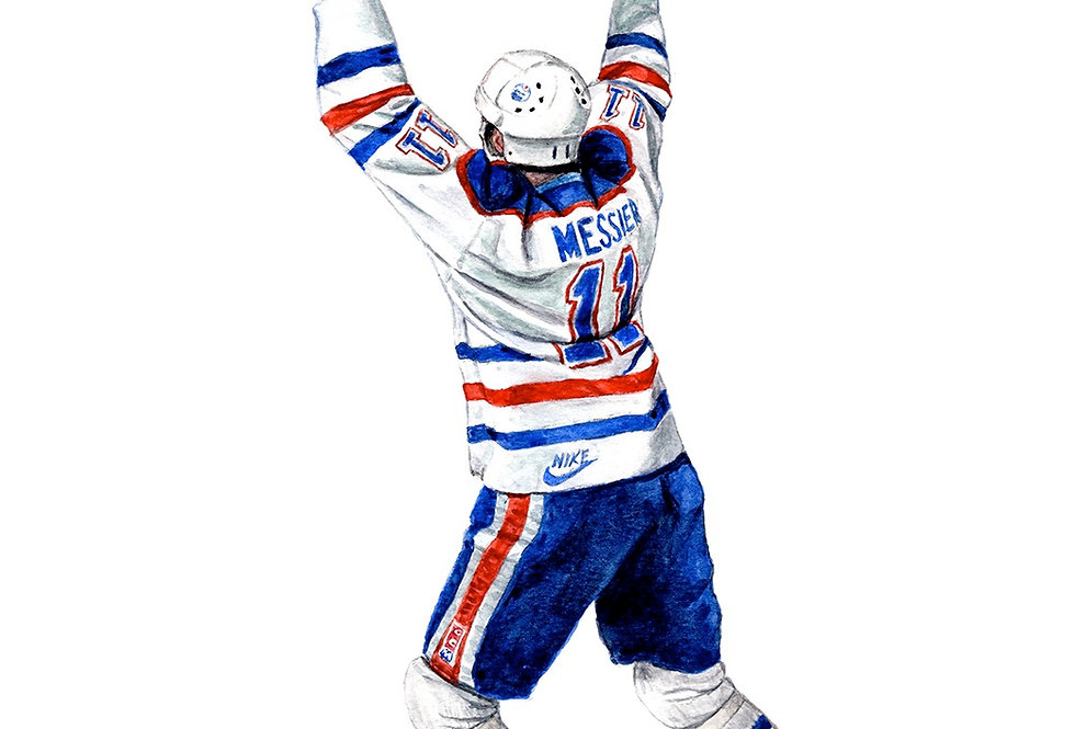 Mark Messier, Stanley Cup - Print