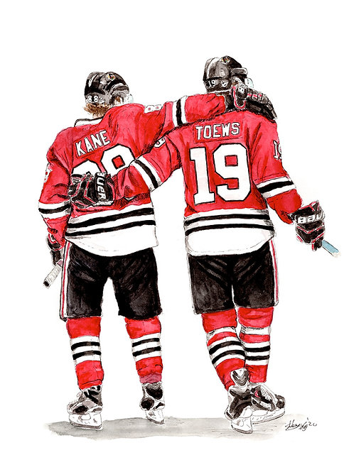 CHICAGO BLACKHAWKS LINE - ORIGINAL