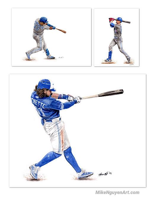 Blue Jays Set - 3 Prints