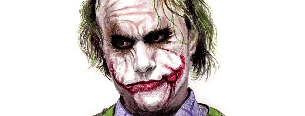HEATH LEDGER, THE JOKER - ORIGINAL