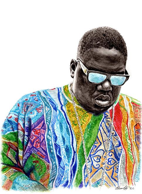 The Notorious B.I.G. - Biggie Smalls - Print
