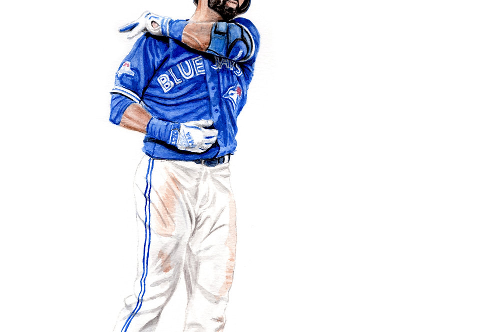 BAT FLIP, JOSE BAUTISTA - ORIGINAL