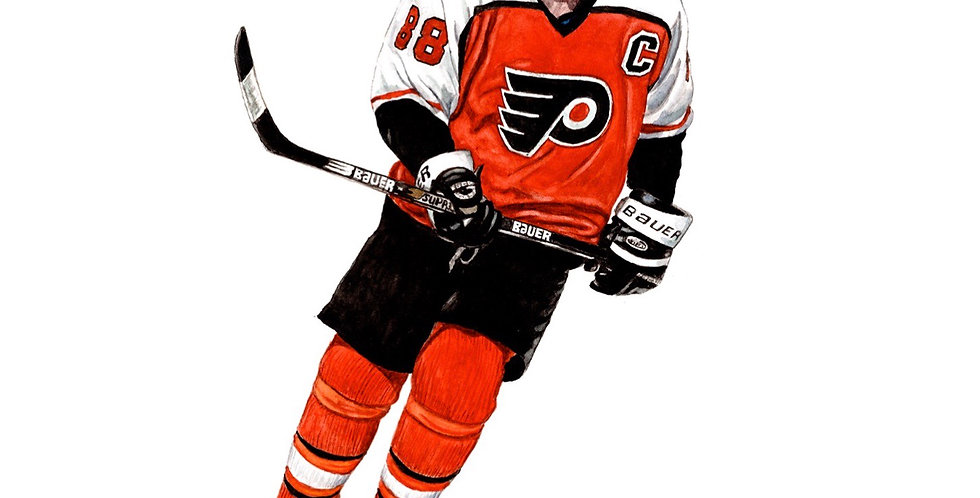 Eric Lindros, The Big E - Print