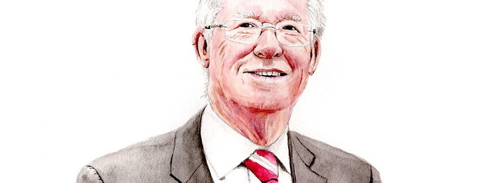 Sir Alex Ferguson - Print