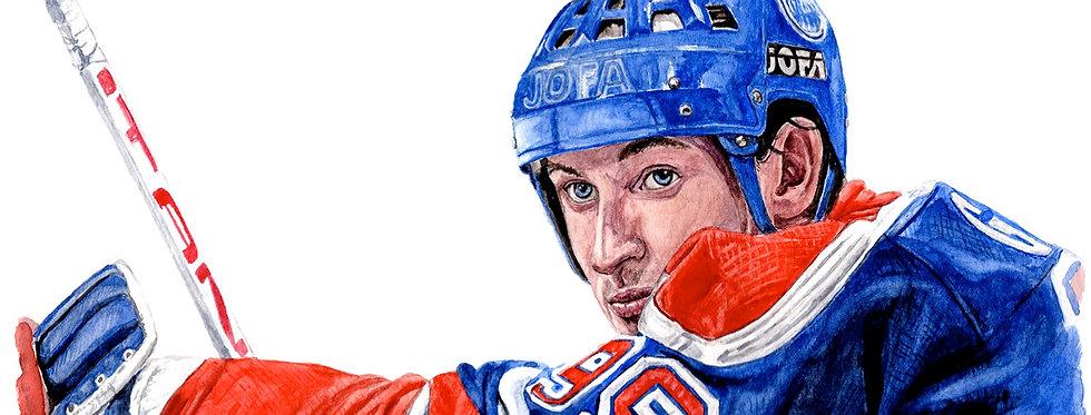 Wayne Gretzky, The Great One - Print