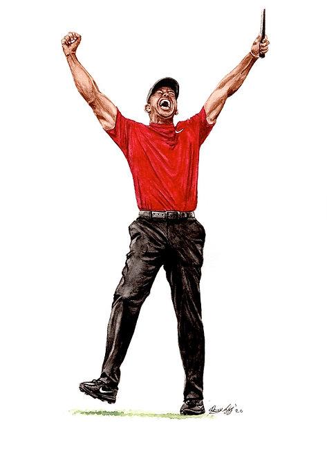 Tiger Woods - Print