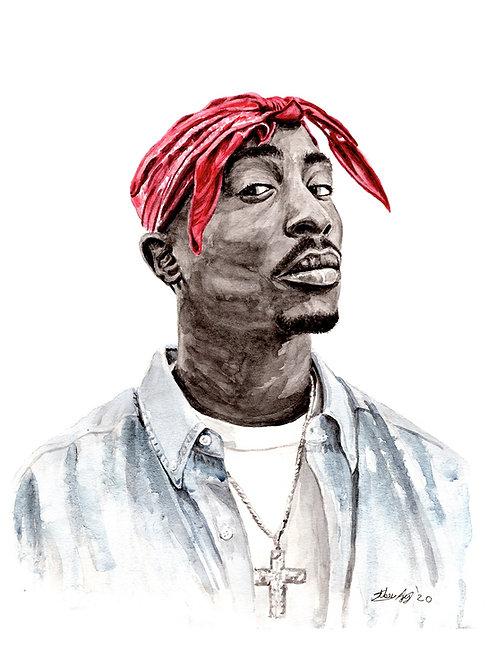 Tupac - Print