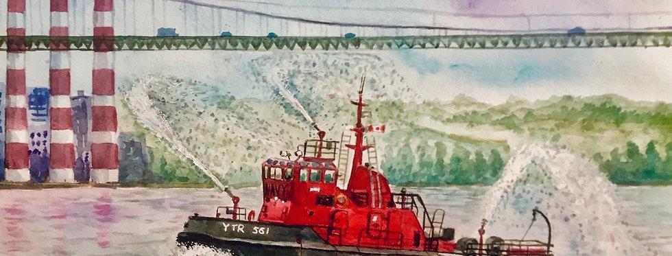 Tugboat - Print