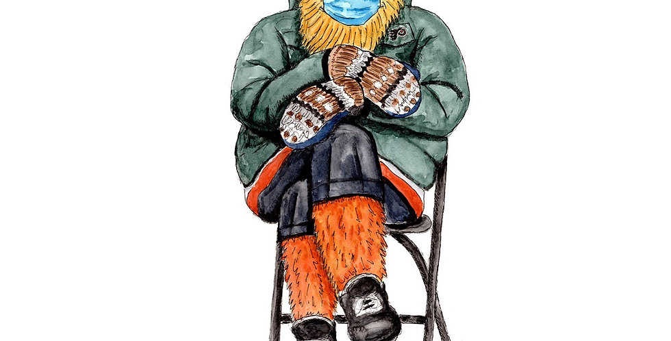 Gritty's Mittens - Print