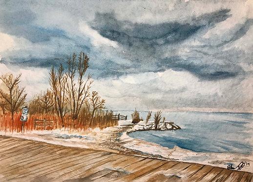 Woodbine Beach - Print