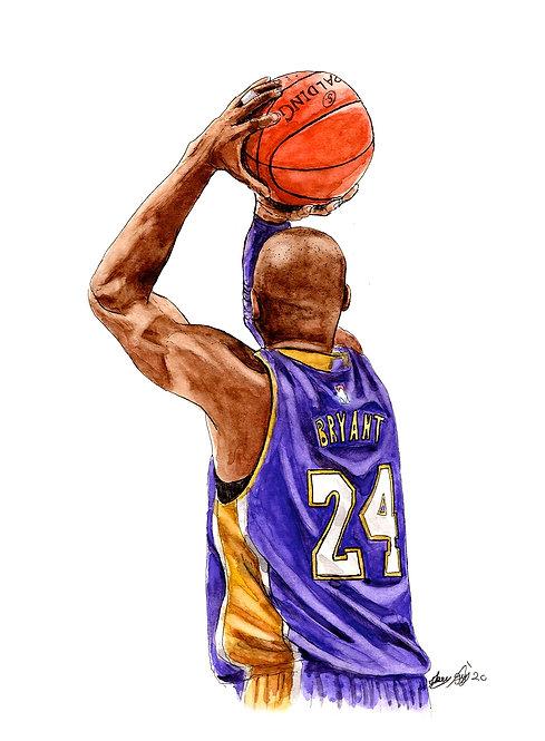 Kobe Bryant Tribute II - Print