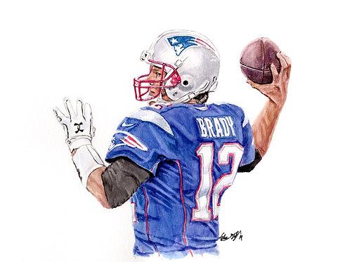 Tom Brady - Print