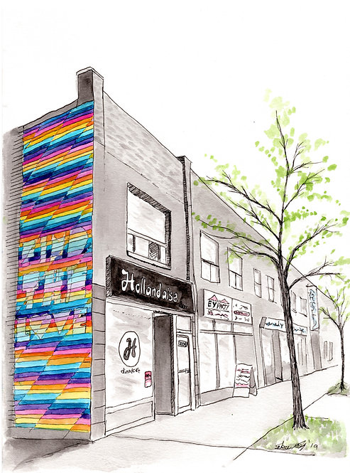 Find The Love - Hollandaise Diner - Print