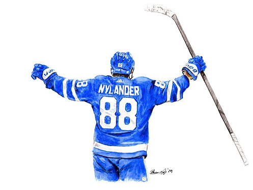 William Nylander - Print