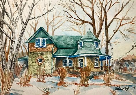 Gardener's Cottage - Print