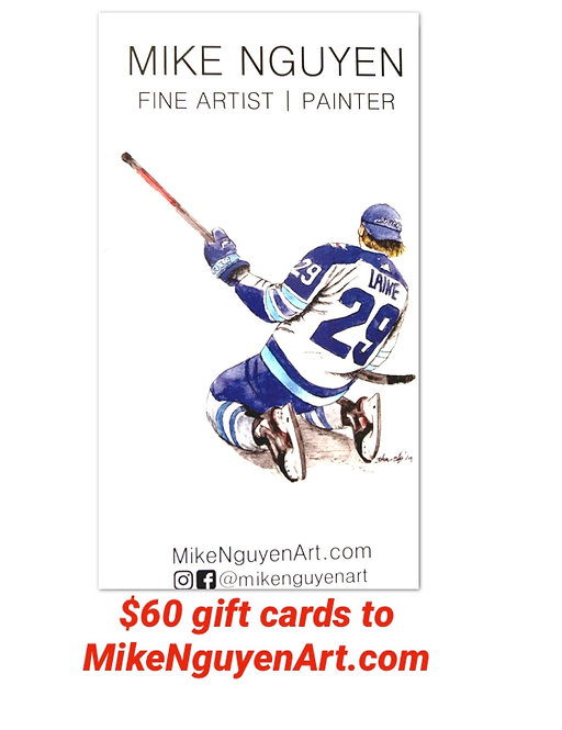 $60 Gift Card to MikeNguyenArt.com