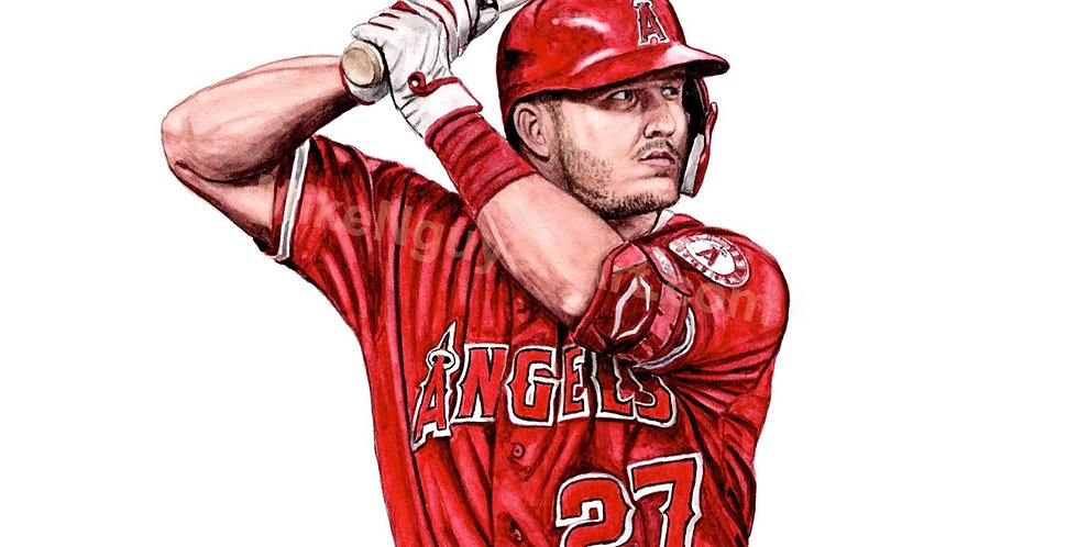 Mike Trout - Print