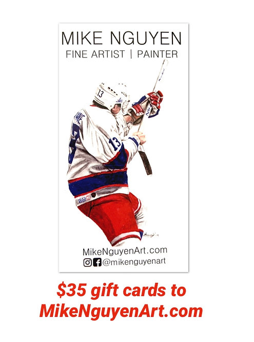 $35 Gift Card to MikeNguyenArt.com