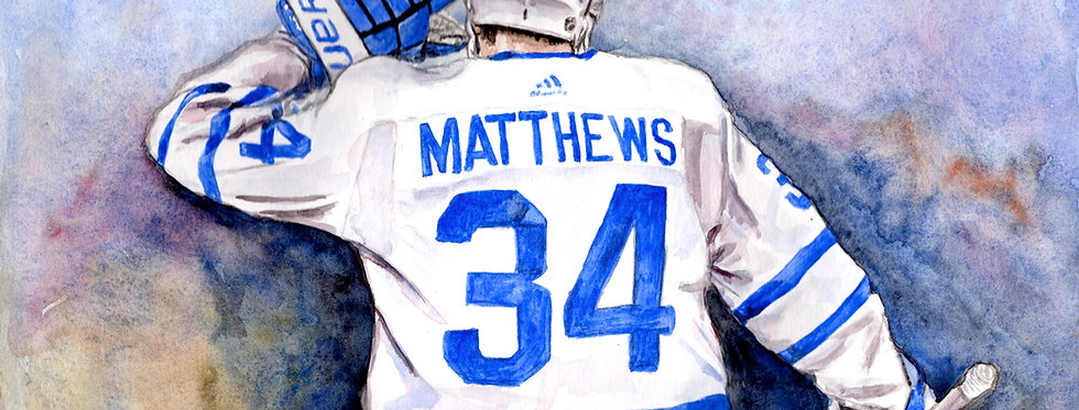 AUSTON MATTHEWS - ORIGINAL