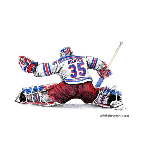 Mike Richter - Print