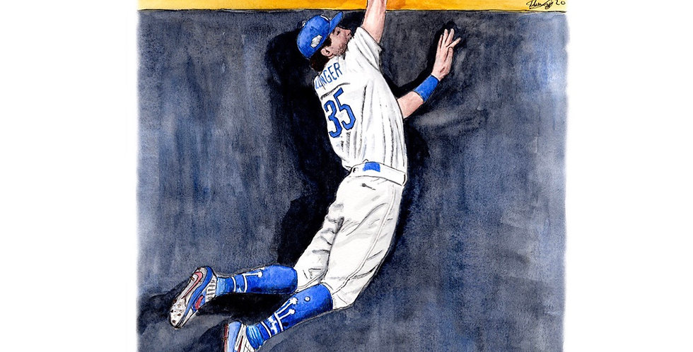 Cody Bellinger, 2020 World Series Champion - Print