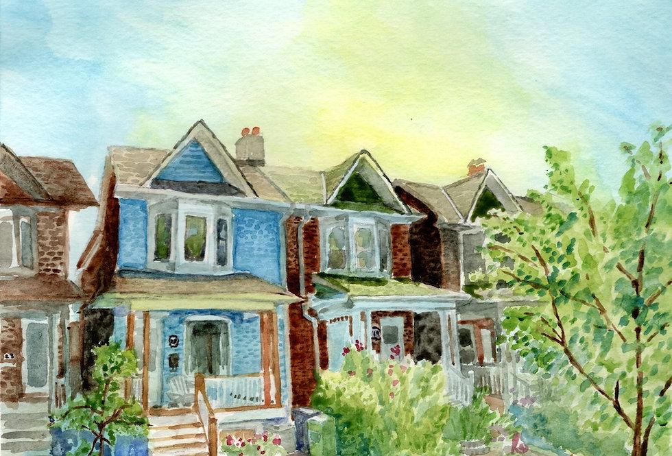 Beaches House - Print