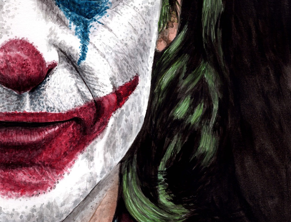 The Joker, Joaquin Phoenix - Print