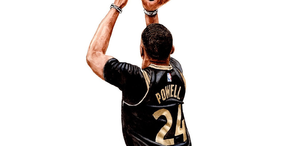 Norm Powell - Print