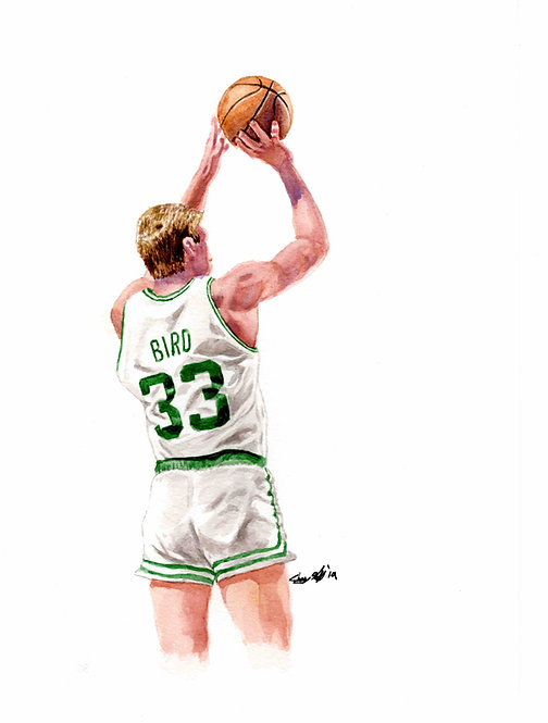Larry Bird - Print