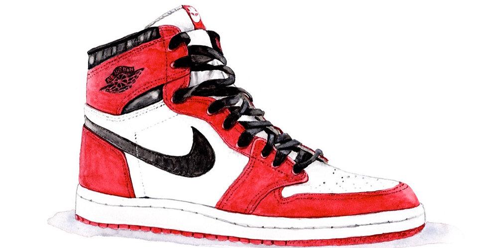 Air Jordan 1 - Print